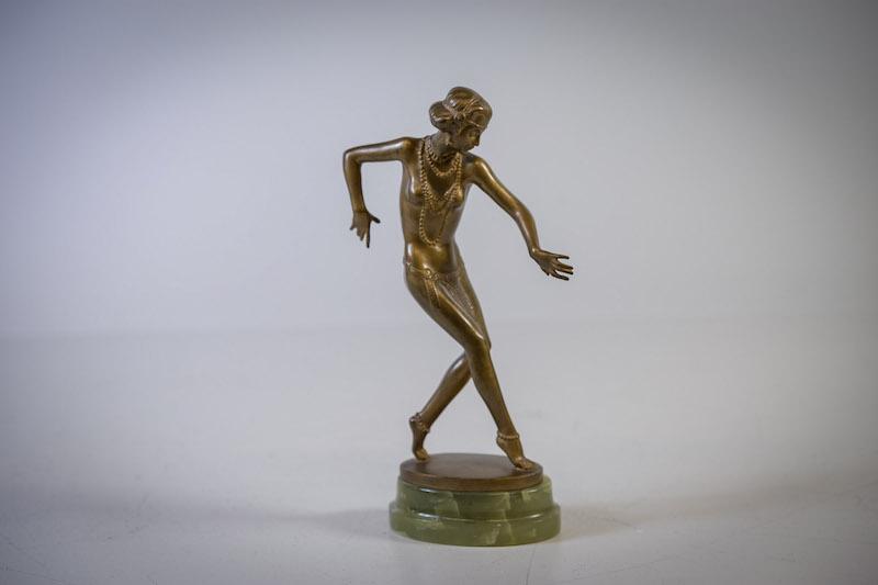 Joseph Lorenzl, bronsskulptur, art deco, 1920/30-tal