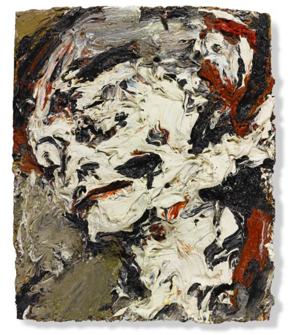 Frank Auerbach, Head of Gerda Boehm, 1965Estimate: £300 000 -500 000Hammer price: £3 789 000