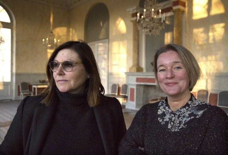 Pia Forsgren och Maria Lindal. Bild: Elin West