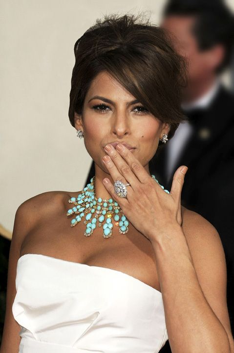Eva Mendes aux 66e Annual Golden Globe Awards à Beverly Hills en 2009