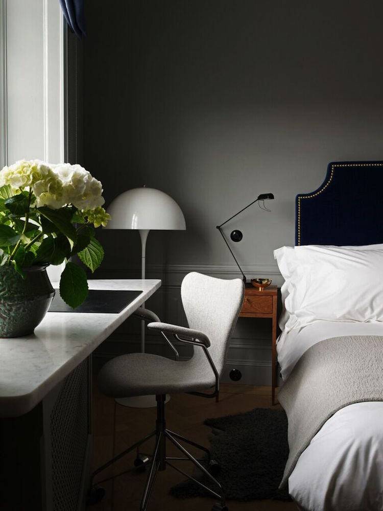 Rummen fylls av skandinaviska designklassiker
