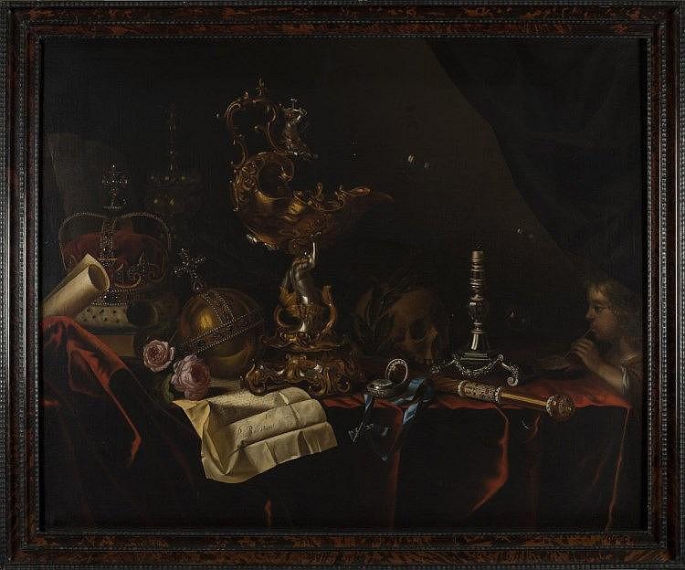 Pieter Van Roestraeten Vanité Loeckx