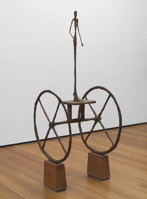 Femme au chariot, Alberto Giacometti. 1950, image ©MoMa