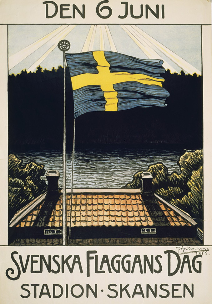 Svenska flaggans dag. Bild: Wikipedia.