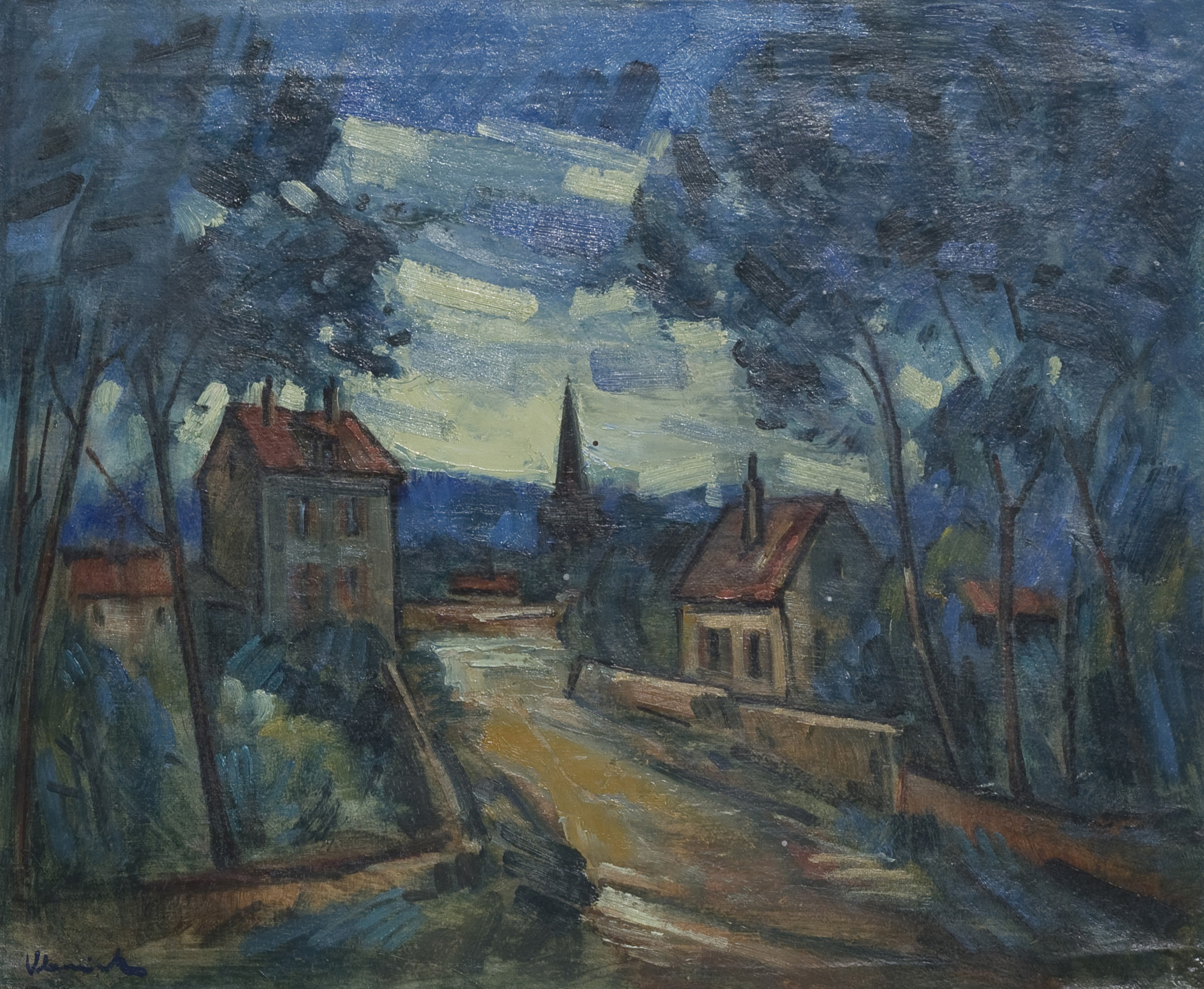 Maurice de Vlamick (1876-1958) Paysage