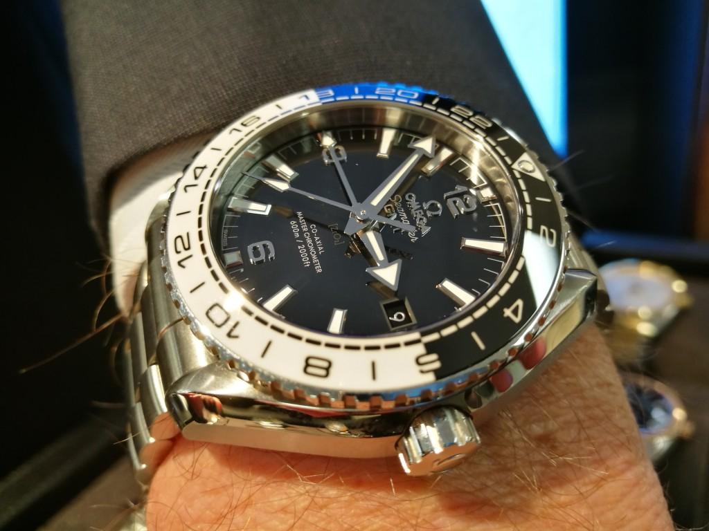 Todays Wristshot: Omega Seamaster GMT.(photo: Johan Sehlstedt)