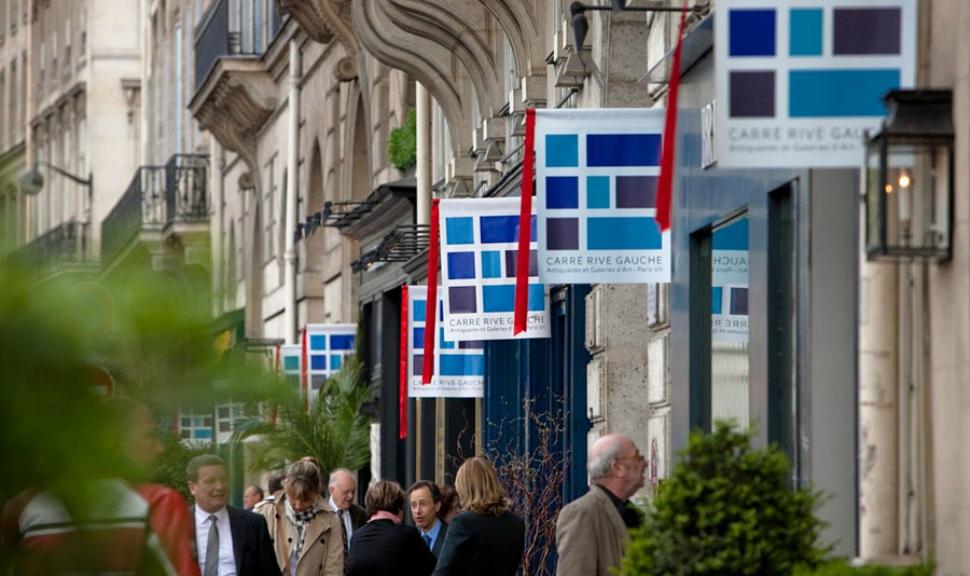 Le Carré Rive Gauche rassemble une centaine d'antiquaires et galeries d'art du VIe et VIIe arrondissements de Paris Image via BlouinArtInfo
