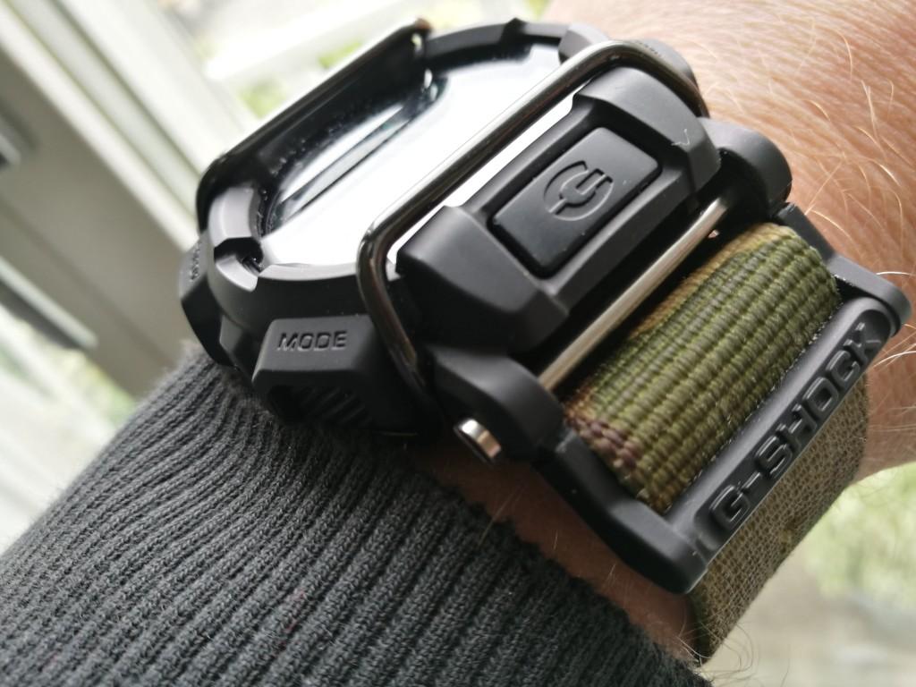 Todays Wristshot: Casio G-Shock, MB400-1ER on a 3-ring Zulu Camostrap(photo Johan Sehlstedt)