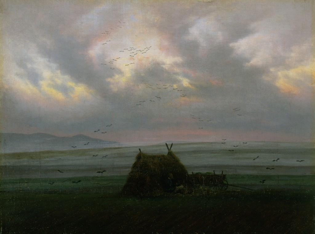 Caspar David Friedrich - Nebelschwaden, ca. 1820