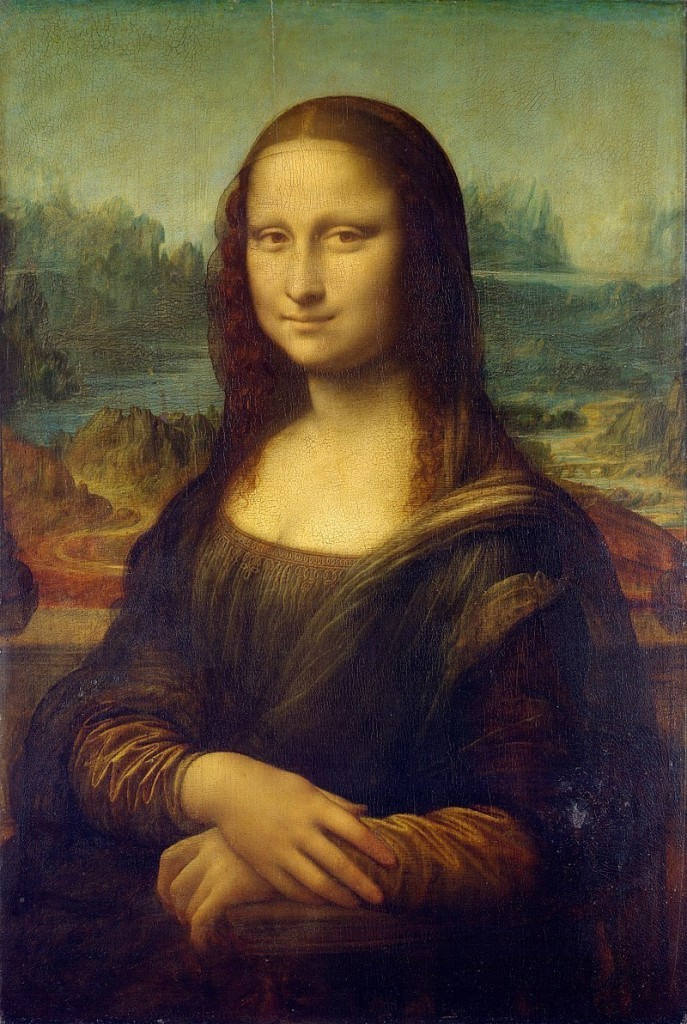 "Leonardo da Vinci's ""Mona Lisa"" was painted between 1503-06. It is thought by many to be a portrait of Lisa Gherardini or ""La Gioconda"". The painting today can be seen in The Louvre, Paris. It is considered the world's most valuable painting. Image: Musée du Louvre, Paris"