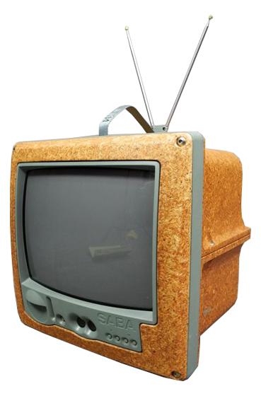 Philippe Starck, Jim Nature Portable TV, SABA, år 1994. Foto: Catawiki.