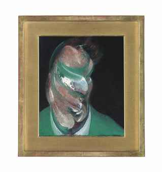 Francis Bacon Study for Head of Lucian Freud