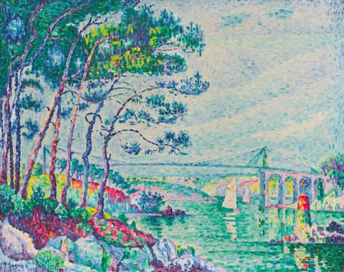 Från 1925 kommer Paul Signacs målning