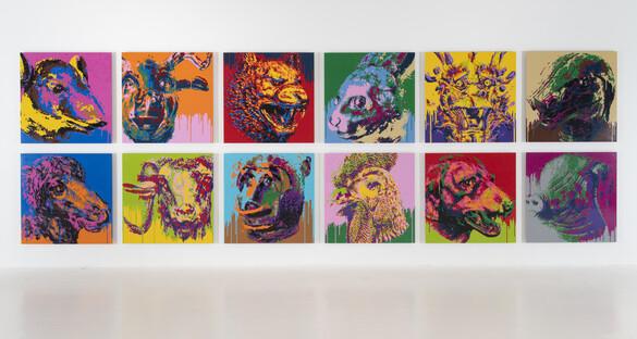Zodiac, Ai Weiwei, 2018. Image: Jeffrey Deitch