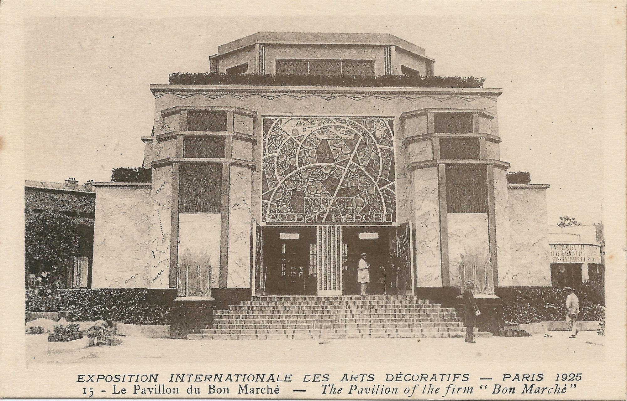 Le Pavillon du Bon Marché, 1925 Image via ArchDaily