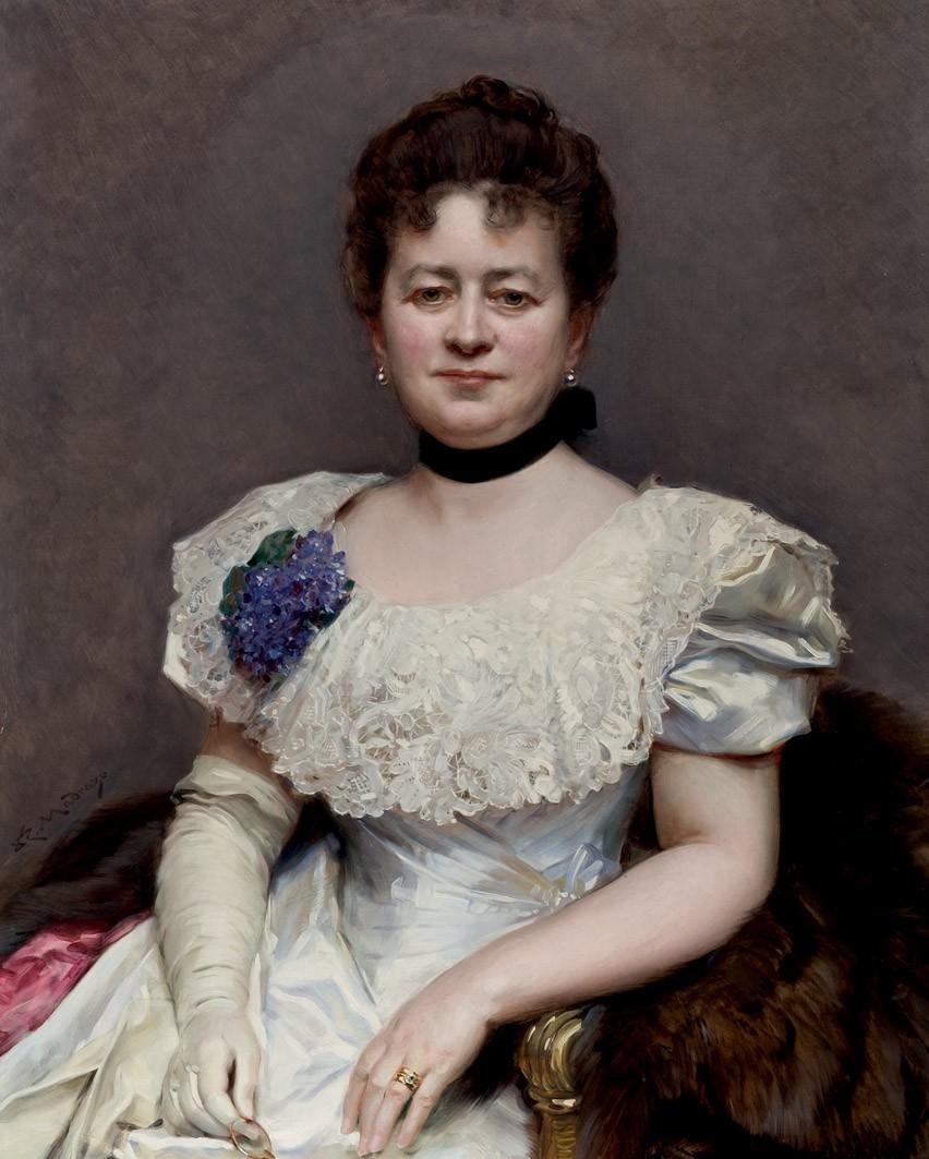 Teresa de Blumenstiel (c.1895-1898), Raimundo de Madrazo
