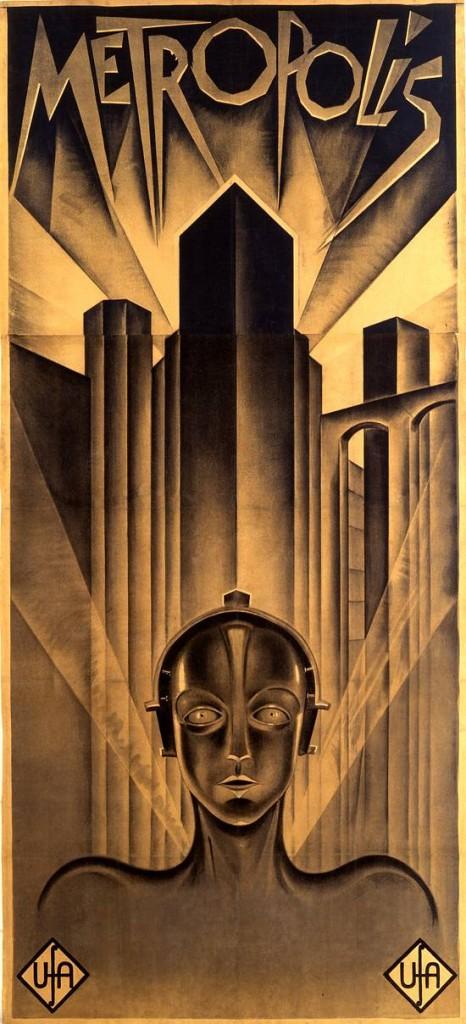 """Metropolis"" (1927, UFA), Plakat für den internationalen Markt"