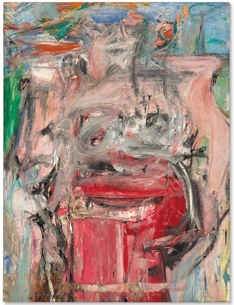 Willem de Kooning, 'Woman as Landscape', 1954-55. Photo: Christie's