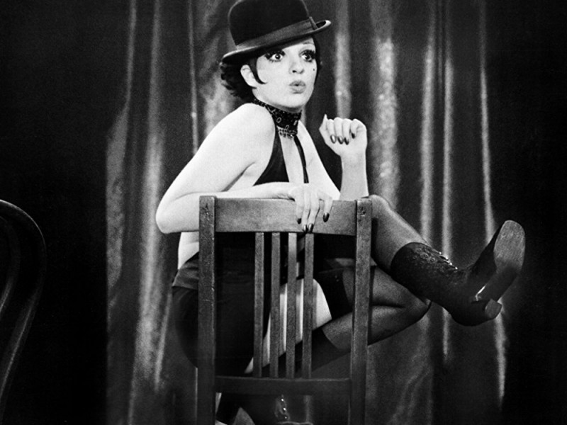 "Liza Minnelli in ""Cabaret"", 1971. Photo via amazon.com."