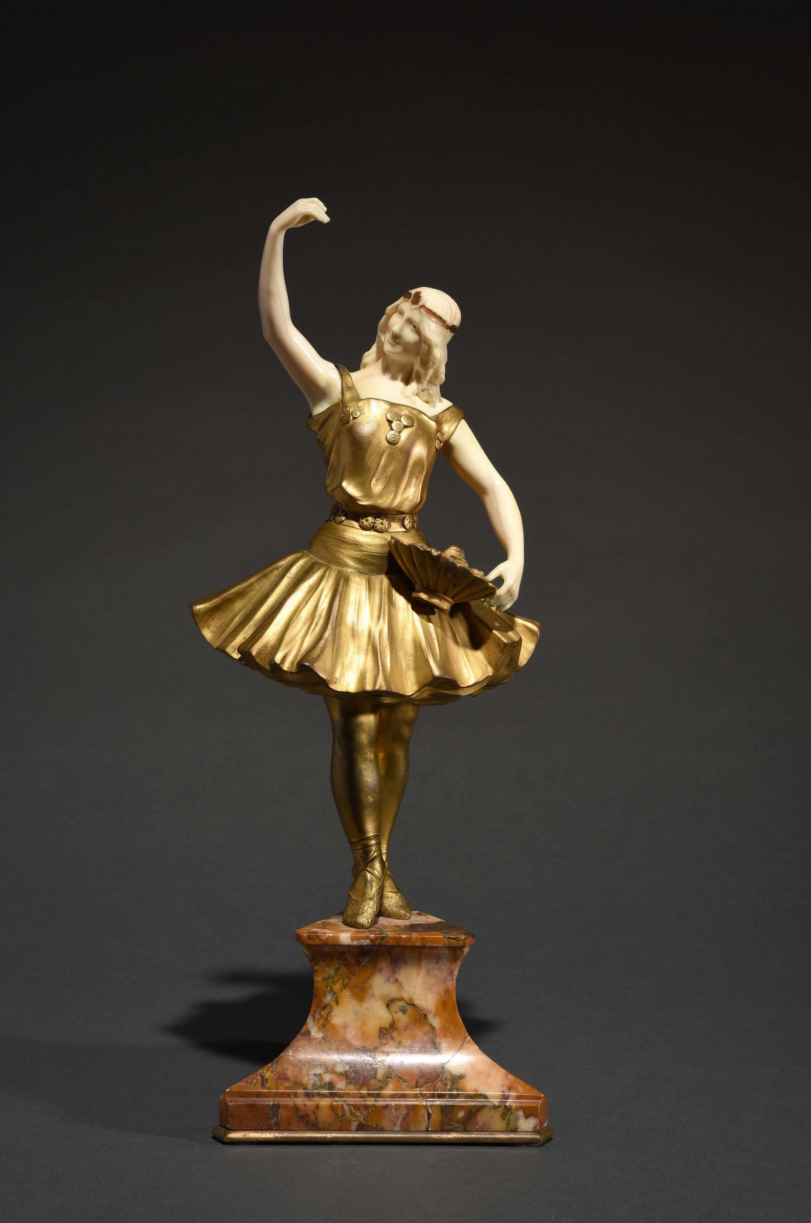 """Louis Sosson, """"Le pas de danse"""". Foto: © HVMC."""