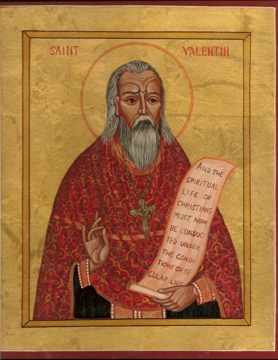 Portrait of Saint Valentine