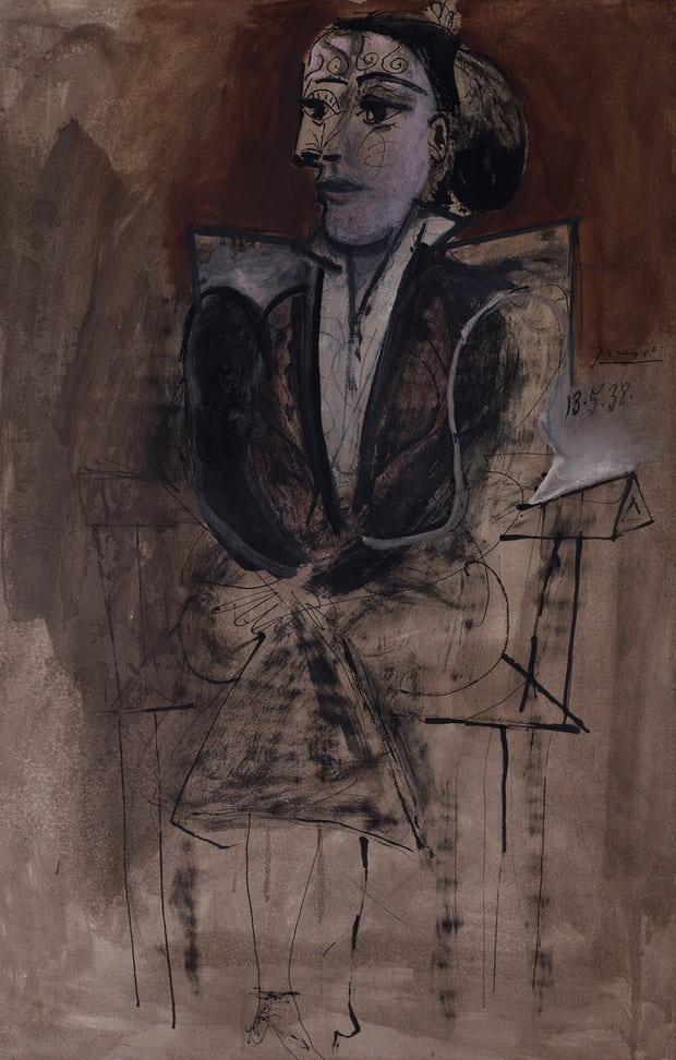 Dora Maar Seated, 1938Image: Succession Picasso/DACS, London 2016 ©Tate, London