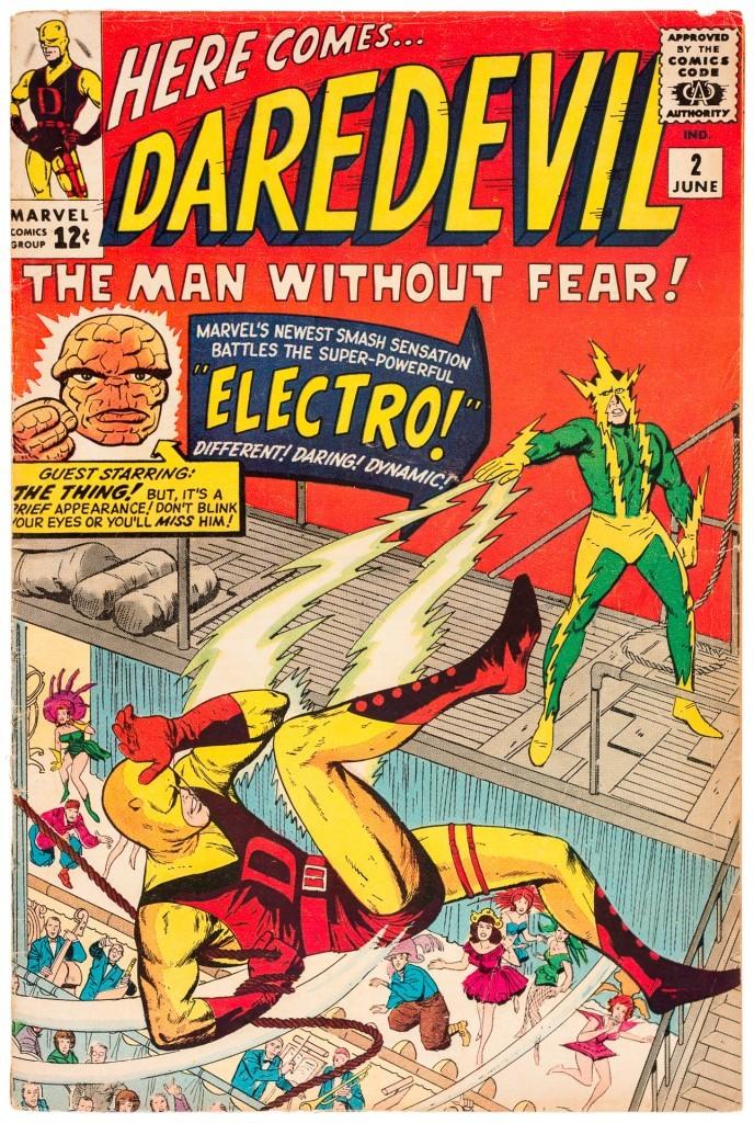 Daredevil against Elektro