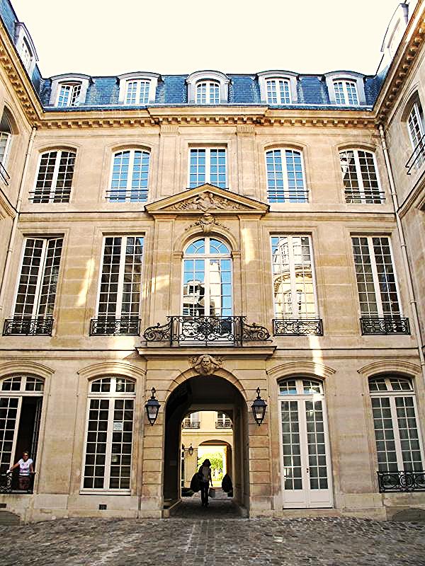 L'Hôtel de Montmor (ou Montmort) rue du Temple à Paris