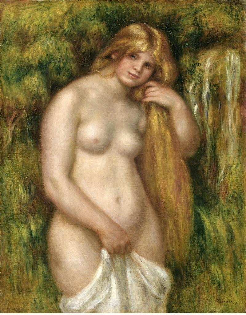 PIERRE-AUGUSTE RENOIR. La fuente (1906). © Foundation E. G. Bührle Collection