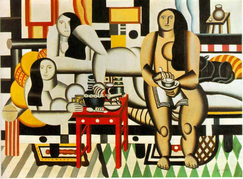 Three Women, Fernand Léger, (1921) Foto: NJBiblio