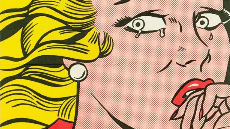 "Roy Lichtenstein, ""Crying Girl"", 1963. Foto: Koller"