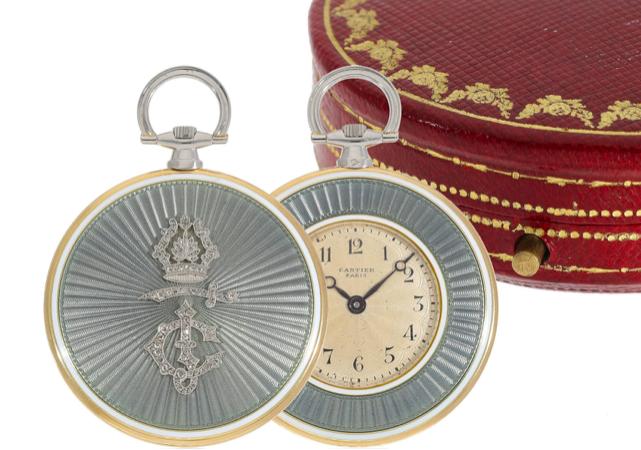 Cartier, orologio da taschino 1910/11. Foto: Cortrie