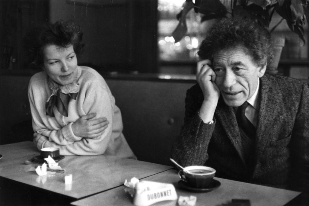 Annette Arm Giacometti et Alberto Giacometti, image ©Foundation Giacometti
