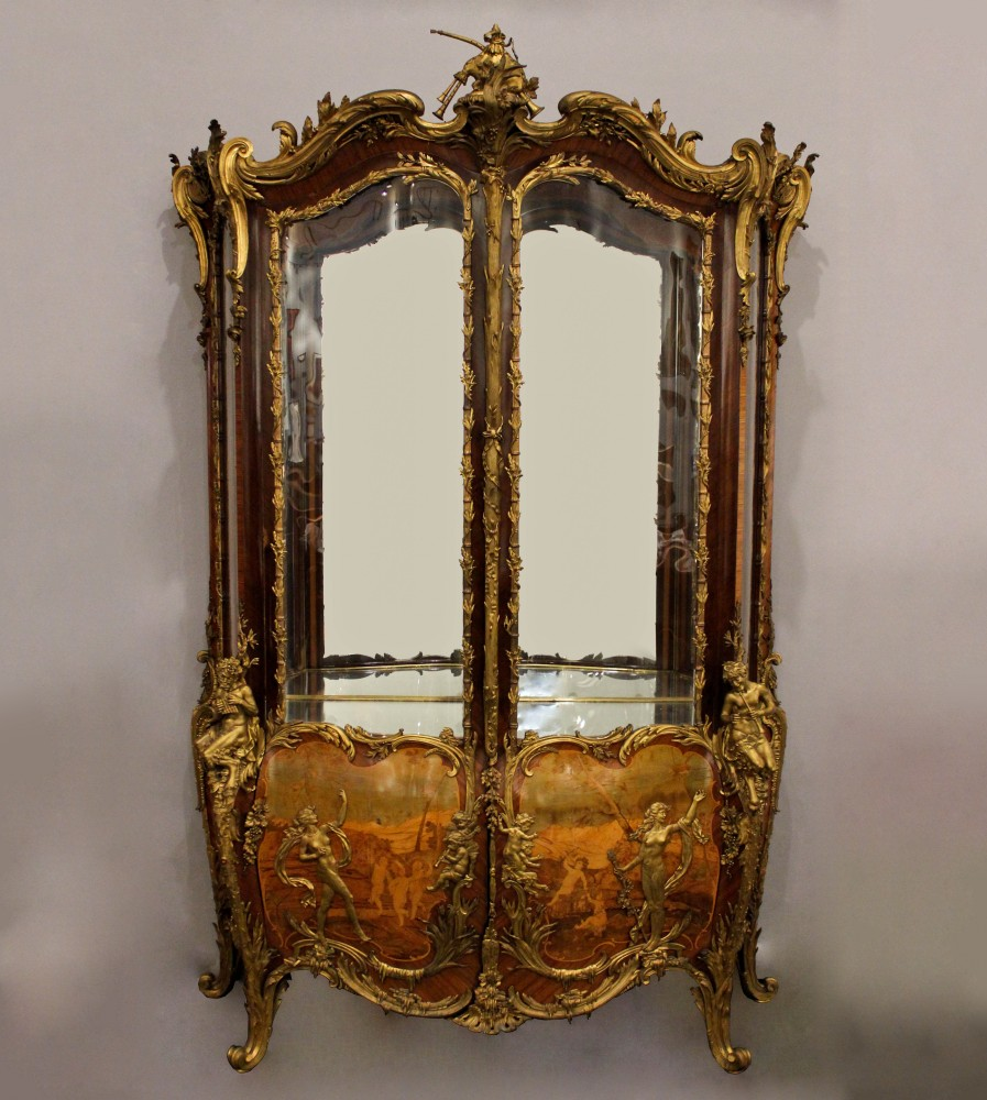 French Belle Epoque vitrine