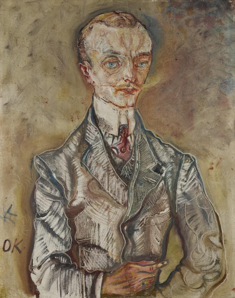 Marquis Joseph de Montesquiou-Fezensac av Oskar Kokoschka. Foto: Sotheby's.