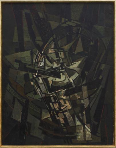 Pierre Dimitrienko, oil on canvas, 1953. Image: Native