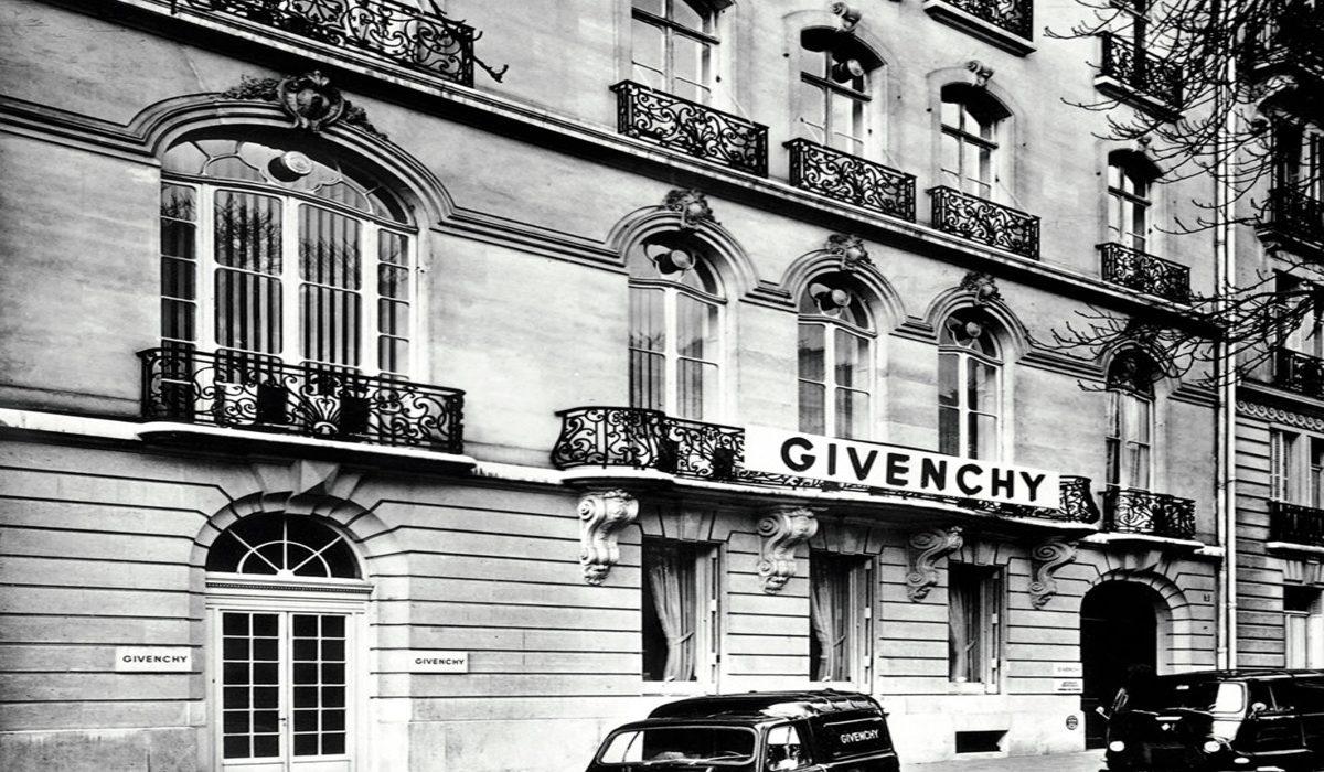 Givenchy studio in Paris