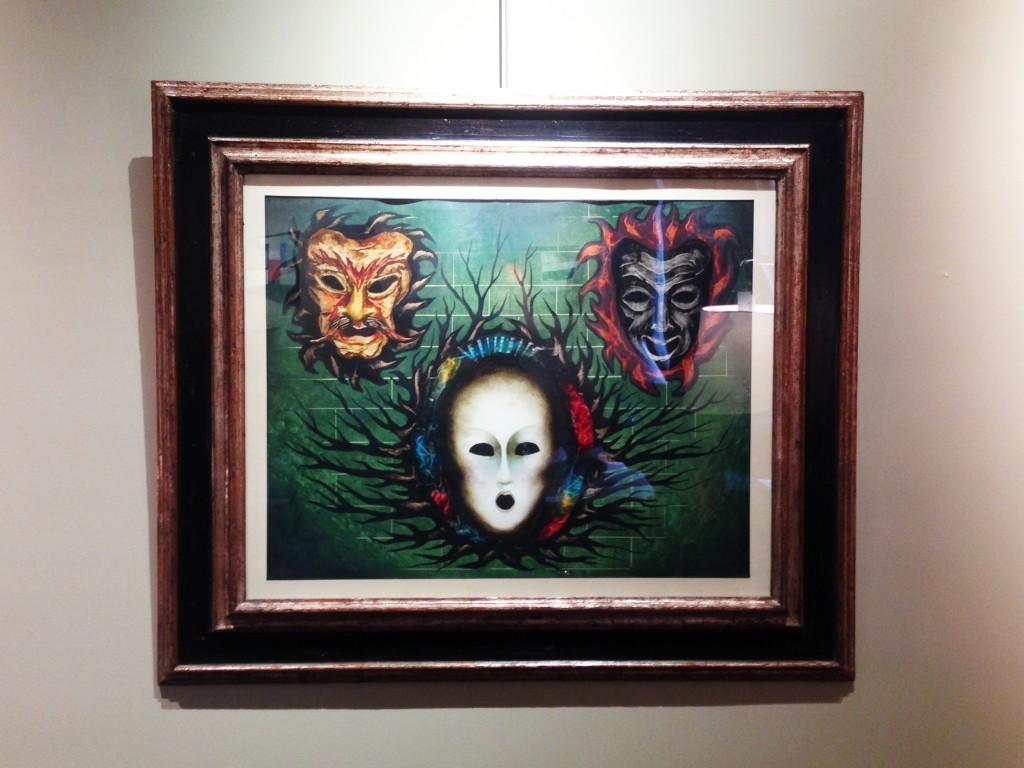 ESTÉBAN FRANCĒS (1913-1976) - Masques fantastiques, Zeichenstift, Aquarell, Gouache u. Aufrauhung/Karton, 58,3 x 73,4 cm, ca. 1940-42 Foto: Courtesy of Barnebys