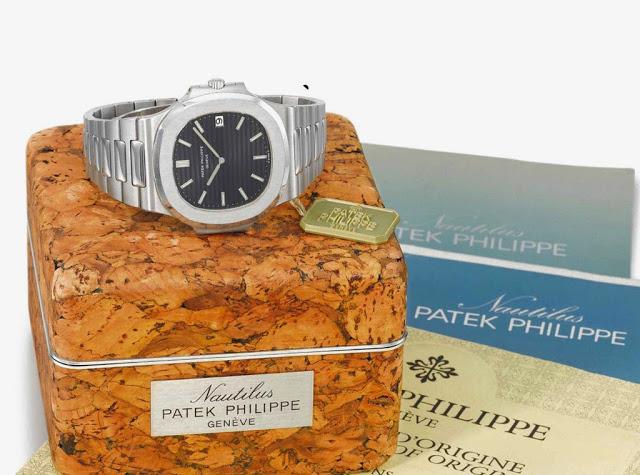 La Patek Philippe Nautilus, une montre mythique dessinée par le célèbre Gérald Genta et introduite en 1972