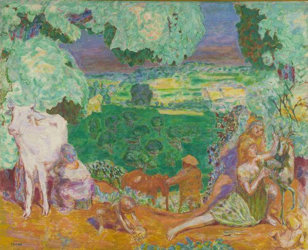 « La Symphonie pastorale », panneau décoratif pour Bernheim-Jeune, 1916-1920 – huile sur toile -  © MUSÉE D'ORSAY, DIST. RMN-GRAND PALAIS/PATRICE SCHMIDT/ADAGP, PARIS 2015