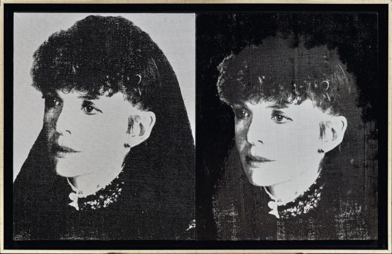 "Andy Warhol, ""Two Diane Keaton"". Foto: Dorotheum."