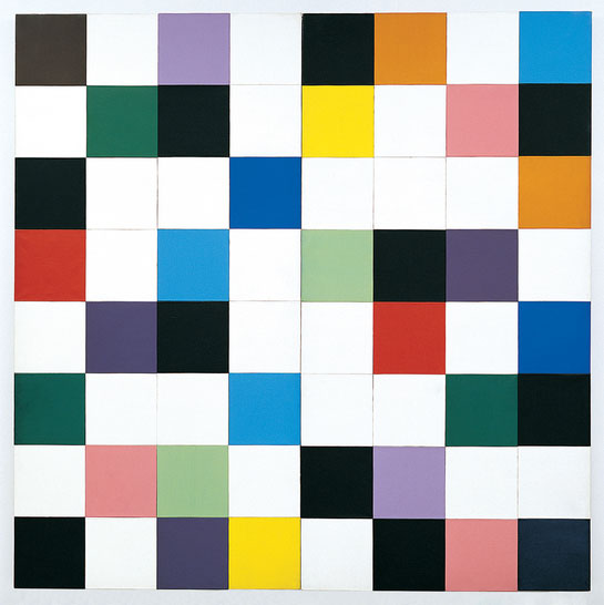 Colors for a Large Wall (1951)