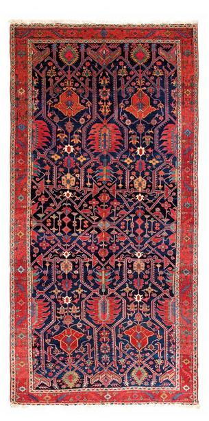 Karadja, Baumwolle/Wolle, 425 x 215 cm, Persien, zweite Hälfte 19. Jhdt. Schätzpreis: 25.000 - 35.000 EUR
