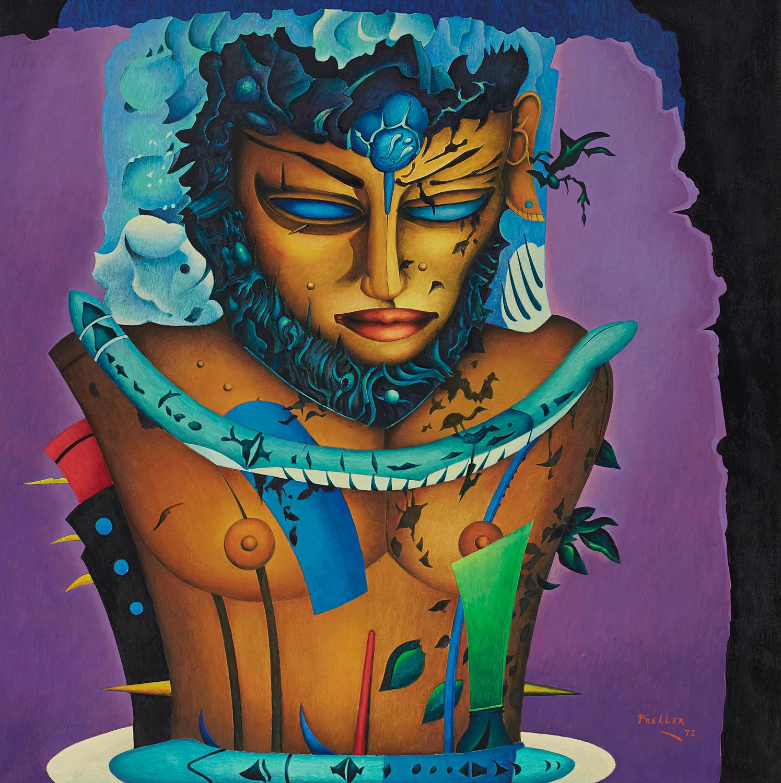 Alexis Preller, 'Adam', 1972. Photo: Aspire Art Auctions