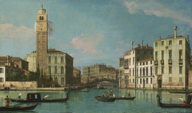 Canaletto, Le Grand Canal et l'entrée au Cannaregio, c. 1734-42