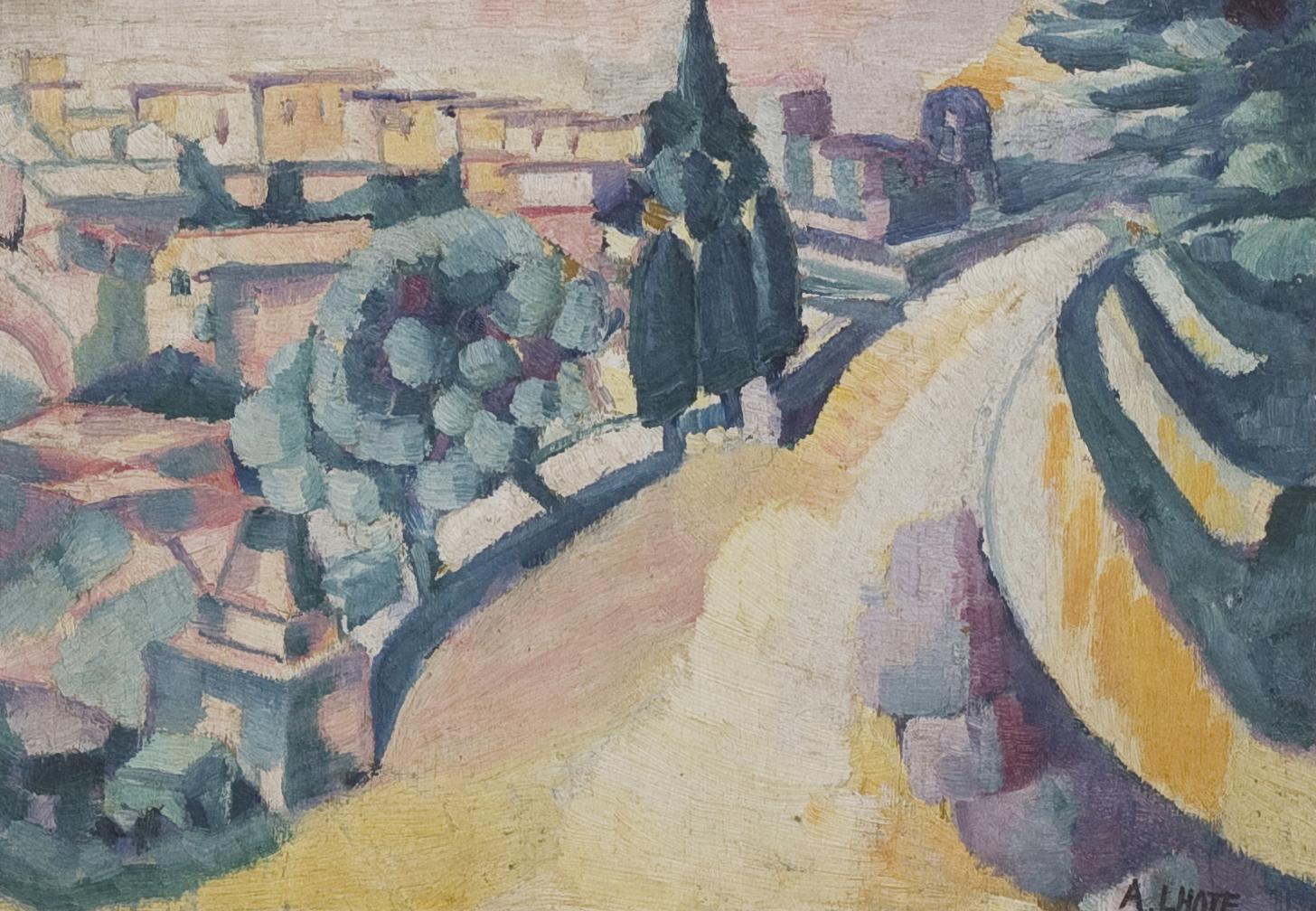 André Lhote (1885-1962) Paysage du Midi The Bru Sale