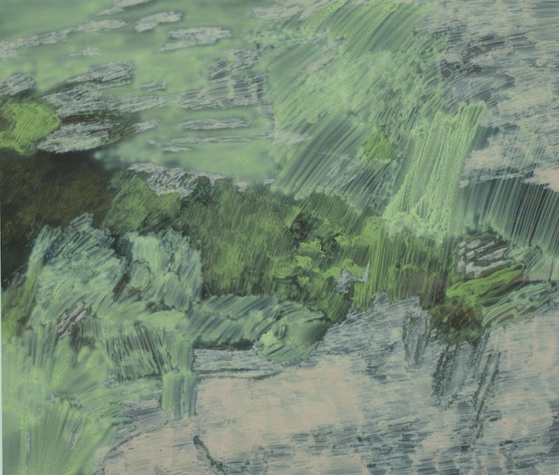 """Ivar Lövheim, """"Mossa"""", 96,5 x 112 cm"""