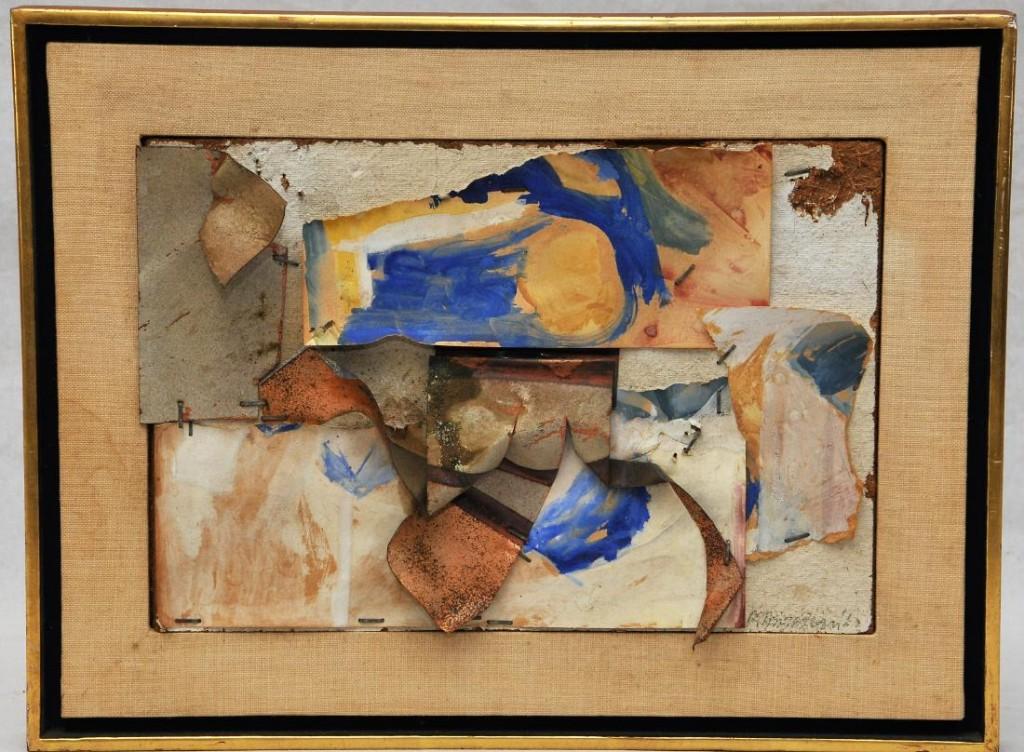John Chamberlain collage