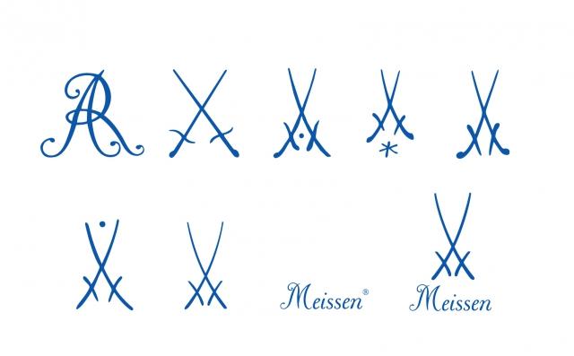 Meissen marks. Image: Meissen