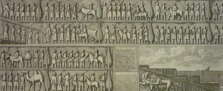 Quatre gravures persanes, XVIIIème, image ©Durán Arte y Subastas